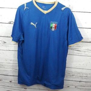 Puma Italia italian jersey sz L